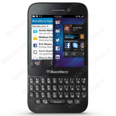 BlackBerry Q5 Black 4G LTE
