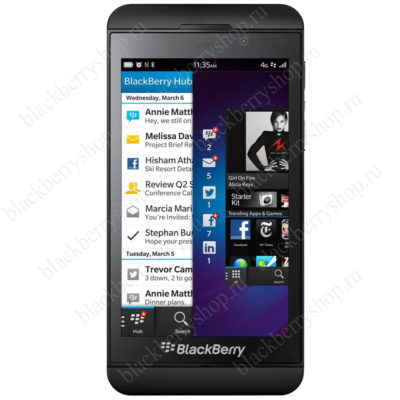BlackBerry Z10 Black 4G LTE