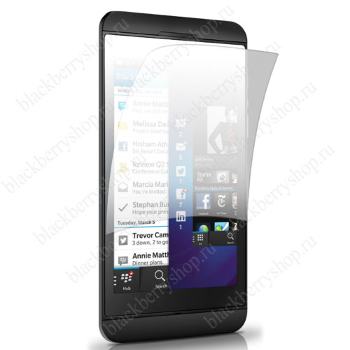 Пленка BlackBerry Z10 защитная
