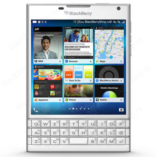 BlackBerry Passport White 4G LTE