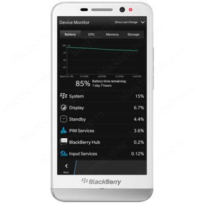BlackBerry Z30 White 4G LTE