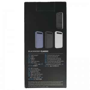 Чехол BlackBerry Classic Черный Softshell