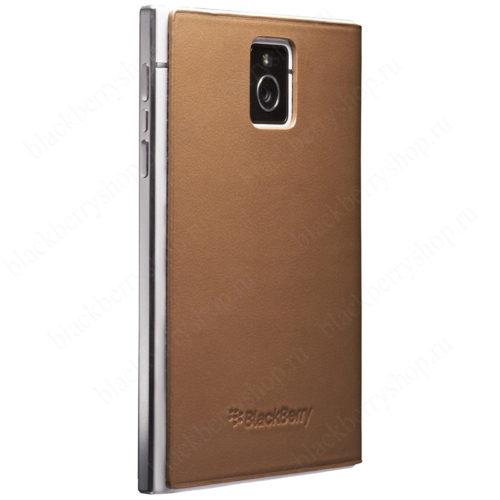 Чехол BlackBerry Passport Leather Flip Brown