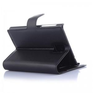 Flip-Leather-Case-for-BlackBerry-Passport-black-3