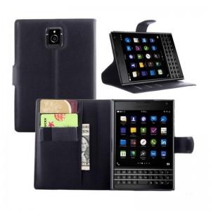Flip-Leather-Case-for-BlackBerry-Passport-black-5