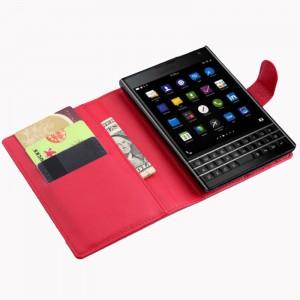 Чехол BlackBerry Passport Leather Flip Case Red