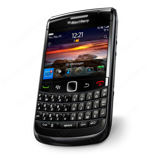 blackberry bold 9780 black