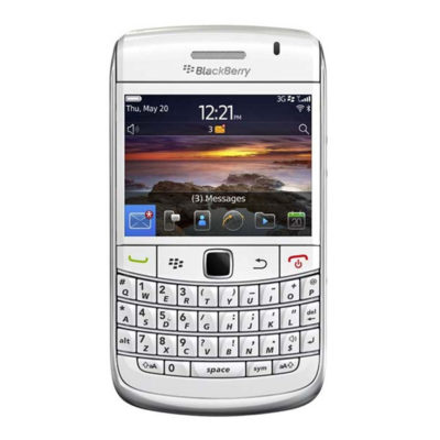Blackberry Bold 9780 White