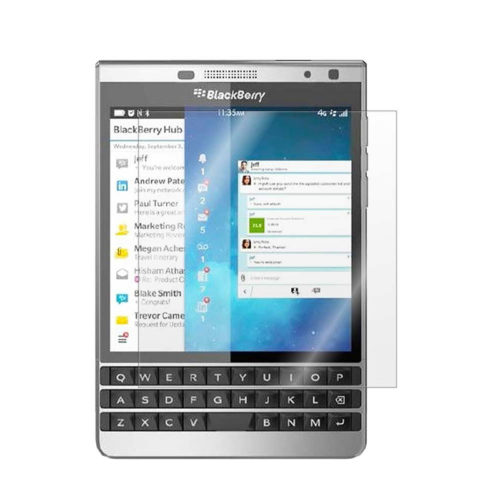 Пленка BlackBerry Passport Silver Edition  защитная