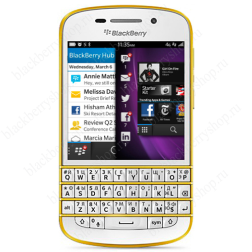 BlackBerry Q10 Gold Special Edition 4G