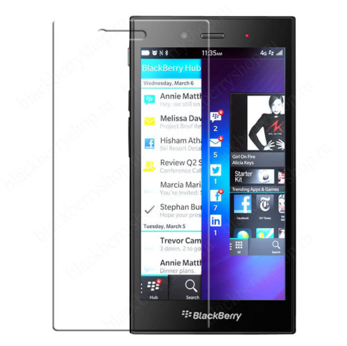 Пленка BlackBerry Z3 защитная