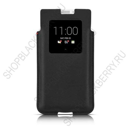 Чехол BlackBerry KEYone Smart Pocket Case Black