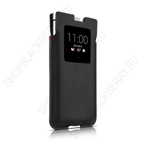 Чехол BlackBerry KEYone Smart Pocket Case Black