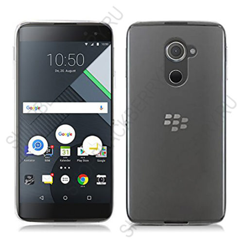Чехол BlackBerry DTEK60 Soft Shell Clear