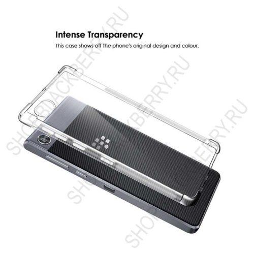 Силиконовыйчехол BlackBerry Motion Soft Shell Clear 3