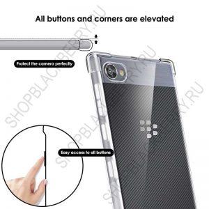 Силиконовыйчехол BlackBerry Motion Soft Shell Clear 2