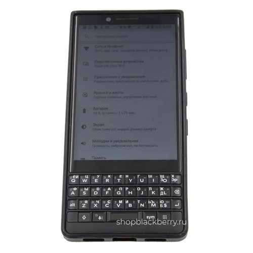 chehol-silicone-hard-shell-for-blackberry-key2-black-clear-3