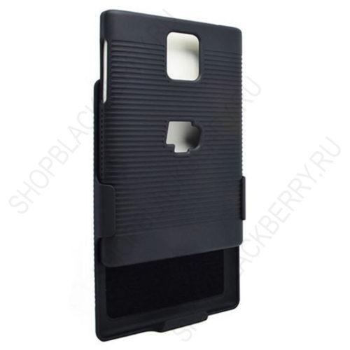 chekhol-BlackBerry-passport-Case-Cover-Swivel-Black-2