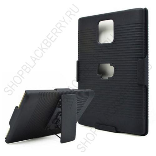 chekhol-BlackBerry-passport-Case-Cover-Swivel-Black