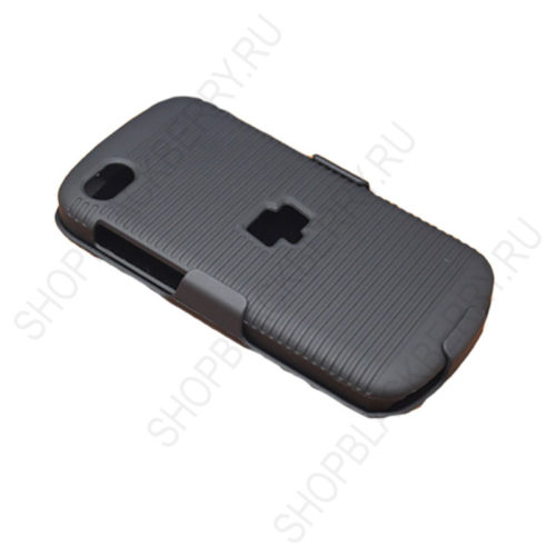 chekhol-BlackBerry-q10-Case-Cover-Swivel-Black-2