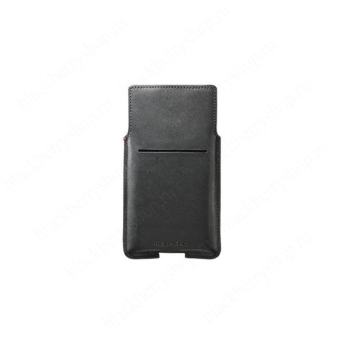 Чехол BlackBerry Priv Leather Pocket Case Black