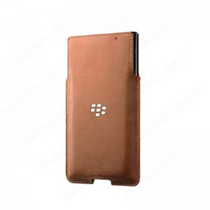 Чехол BlackBerry Priv Leather Pocket Case Brown