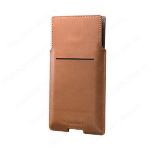Чехол BlackBerry Priv Leather Pocket Case Brown
