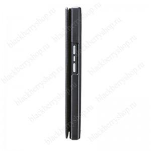 Чехол BlackBerry Priv Leather Smart Flip Case Black