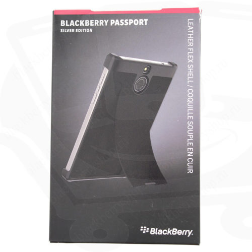 Чехол BlackBerry Passport Silver Edition Leather Flex Shell
