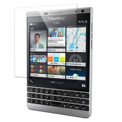 Стекло защитное BlackBerry Passport Silver Edition