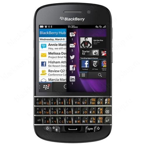 BlackBerry Q10 Black EAC 4G LTE