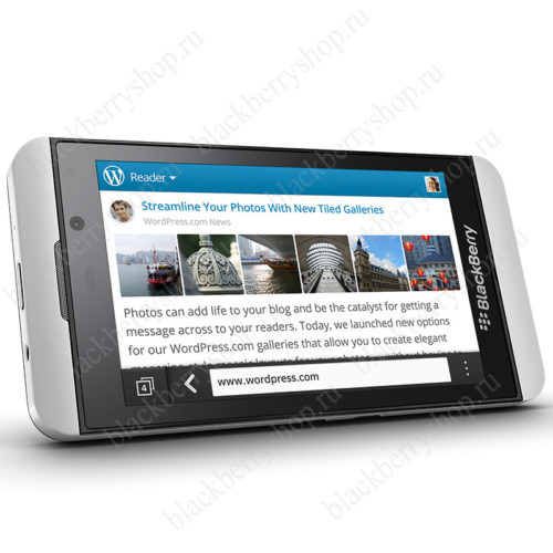 BlackBerry Z10 White 3G