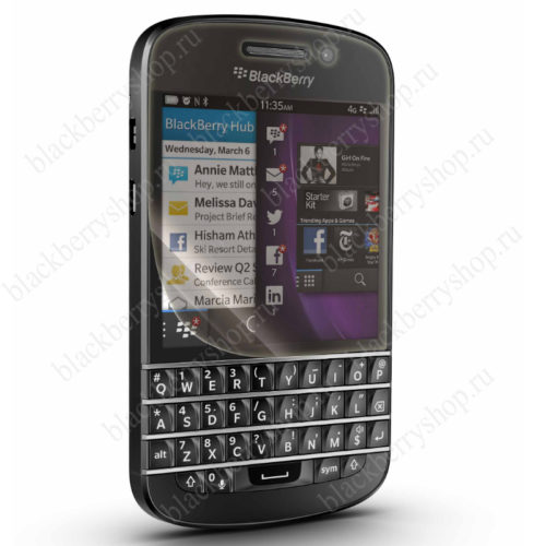 Пленка BlackBerry Q10 защитная