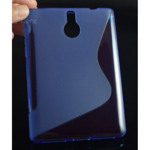 Чехол BlackBerry Passport Silver Edition Silicon Blue