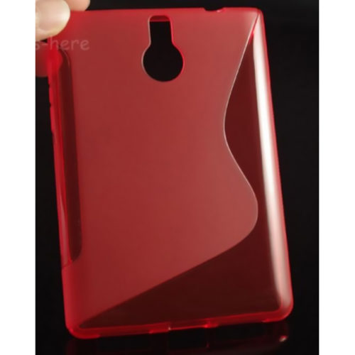 Чехол BlackBerry Passport Silver Edition Silicon Red