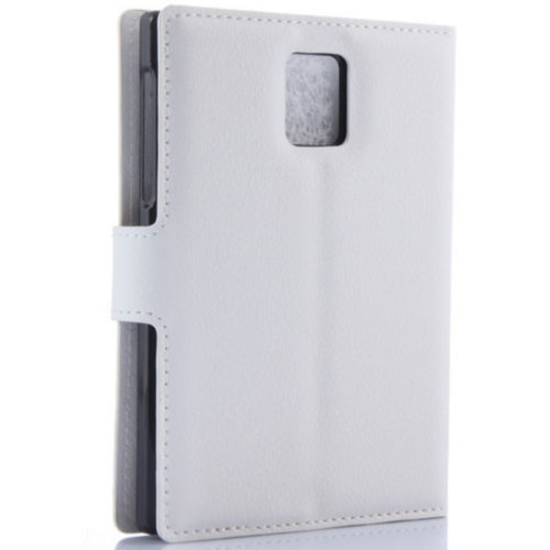 Чехол BlackBerry Passport Leather Flip Case White