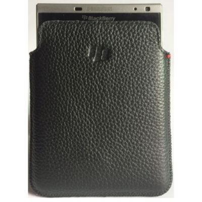 Чехол BlackBerry Passport Leather Pocket Black
