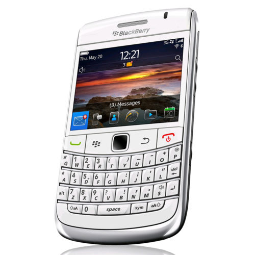 Blackberry Bold 9780 White