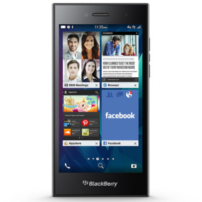 BlackBerry Leap Black 4G LTE