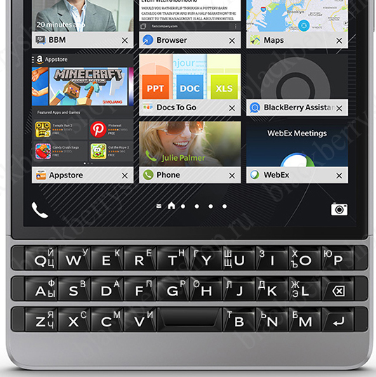 BlackBerry Passport Silver Edition 4G LTE