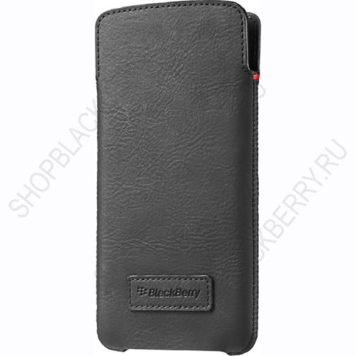 Чехол BlackBerry DTEK60 Smart Pocket Case Black