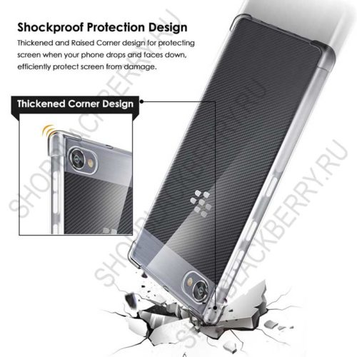 Силиконовый чехол BlackBerry Motion Soft Shell Clear 4