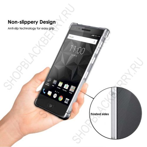 Силиконовый чехол BlackBerry Motion Soft Shell Clear 5