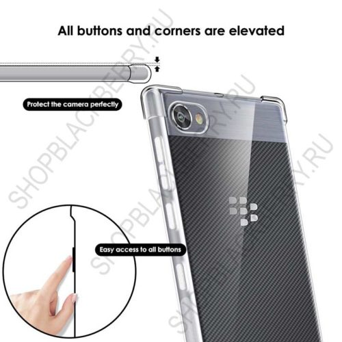 Силиконовый чехол BlackBerry Motion Soft Shell Clear 2