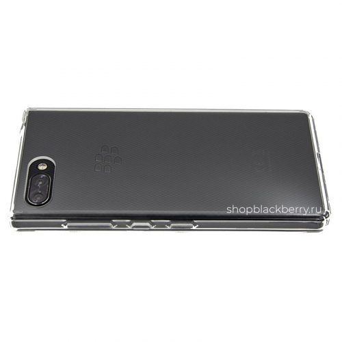 chehol-silicone-hard-shell-for-blackberry-key2-clear-1