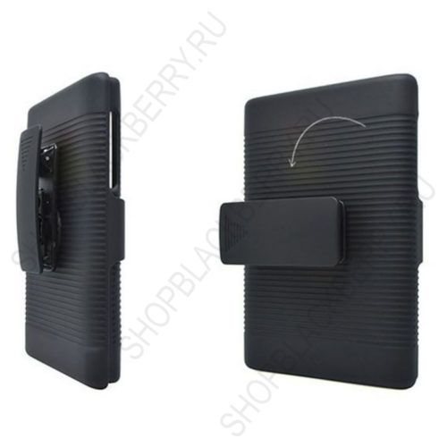 chekhol-BlackBerry-passport-Case-Cover-Swivel-Black-3