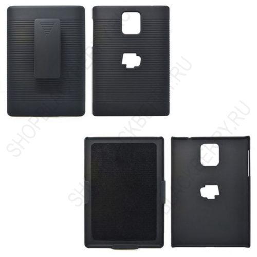 chekhol-BlackBerry-passport-Case-Cover-Swivel-Black-4