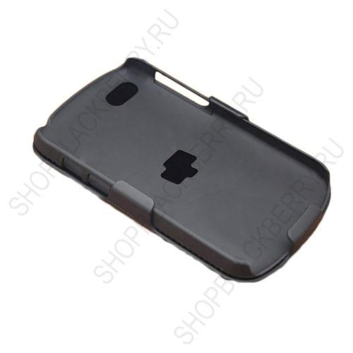 chekhol-BlackBerry-q10-Case-Cover-Swivel-Black-3