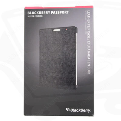 Чехол BlackBerry Passport Silver Edition Leather Flip