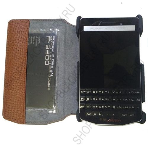 Чехол BlackBerry Porsche P9983 Flip Case Orange